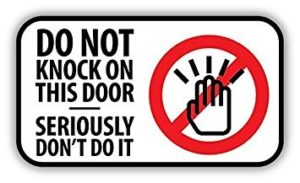 No Knock graphic